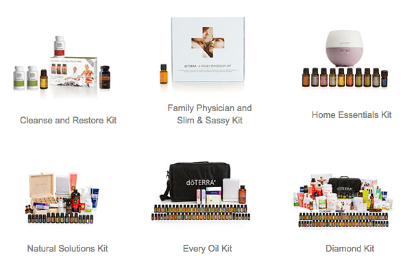 doterra Essential Oil Enrollment Kits